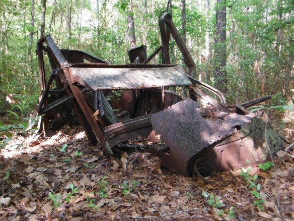 Remains of the Overland Sedan