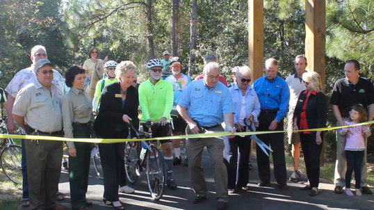 Reopening of the Tallahassee-St. Marks Historic Railroad State Trail