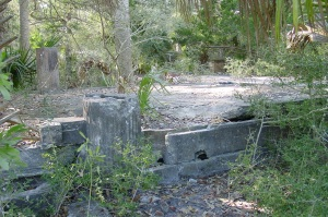 Remains of the Wakulla Beach Hotel